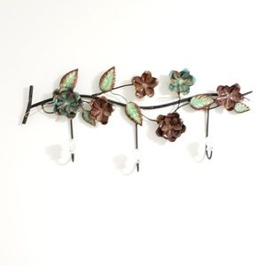 Floral Decorative Wall Hook